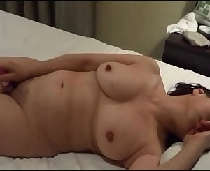 Old Asian in Love With Masturbation
