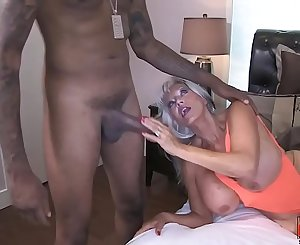 Hot MILF tricks a BBC Maintenance Man  Sally D'angelo  Shawn Daum