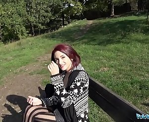 Public Agent Hot Redhead Lola Fae fucked by Euro guy
