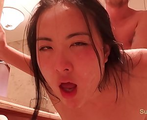 he Covers her face in Spunk and KEEPS fucking her!! sukisukigirl wmaf couple