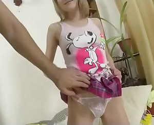 Blonde Russian Teenager Extreme Anal