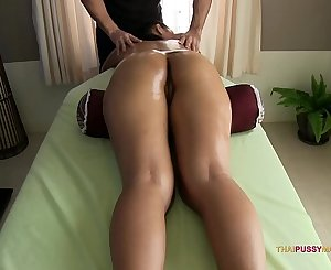 Smooth silky Thai skin massaged by pervert masseuse